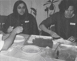 Photo of a Jewish-Muslim Women's Baking Circle