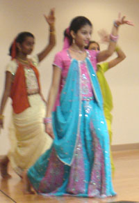 Photo of three dancers